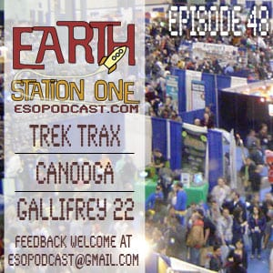 Earth Station One Episode 48: ESO's all Convention Episode
