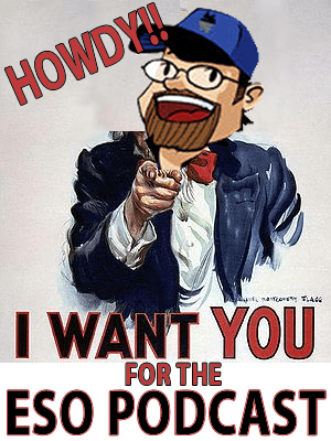 I want you for the ESO Podcast!