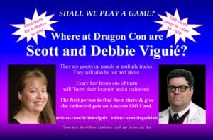 Dragoncon Ad for Scott and Debbie Viguie Final