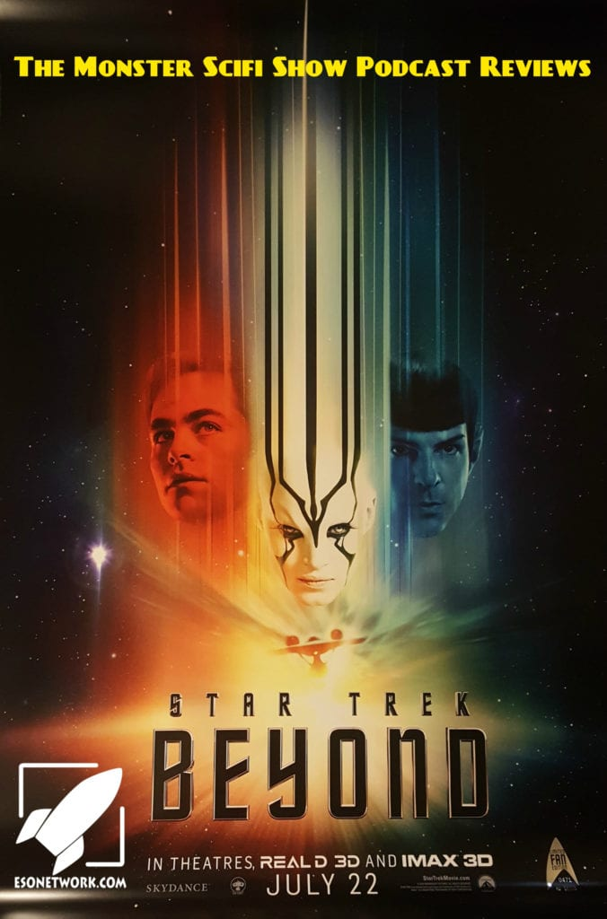 monster scifi show cover - star trek beyond