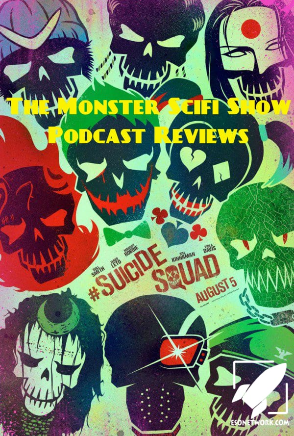 monster scifi show cover - suicide squad