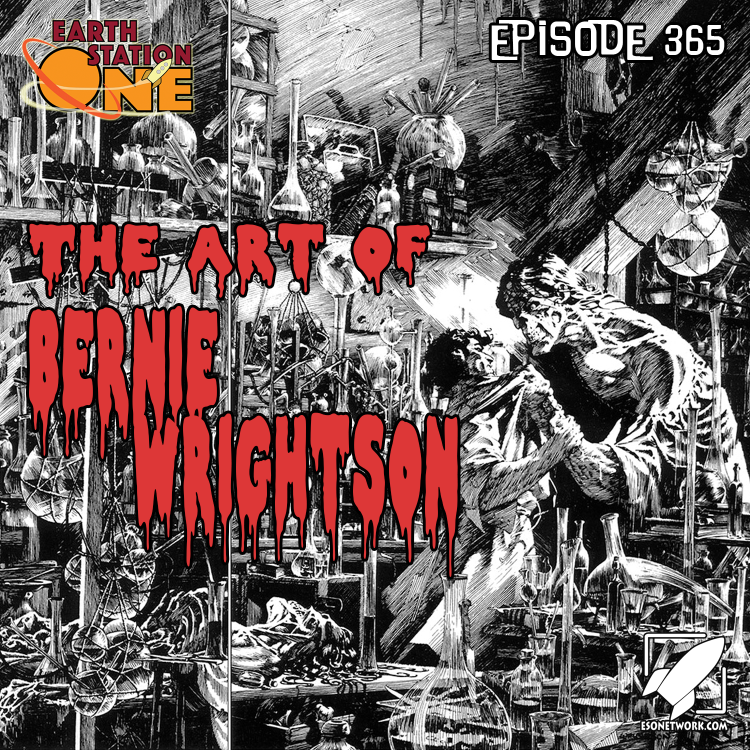 Earth Station One Podcast Ep 365 - Artist Spotlight on Bernie Wrightson
