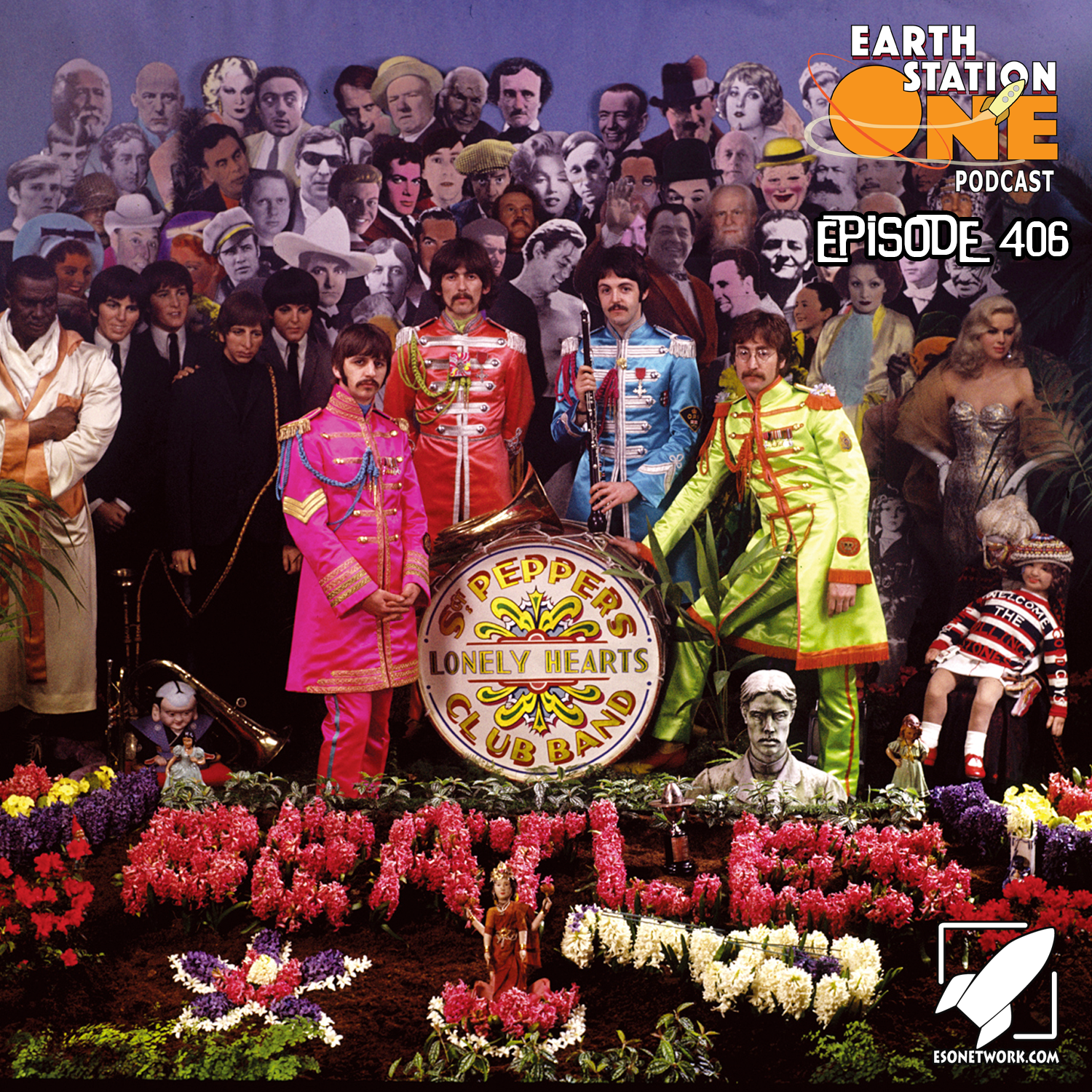 Earth Station One Ep 406 - Meet The Beatles
