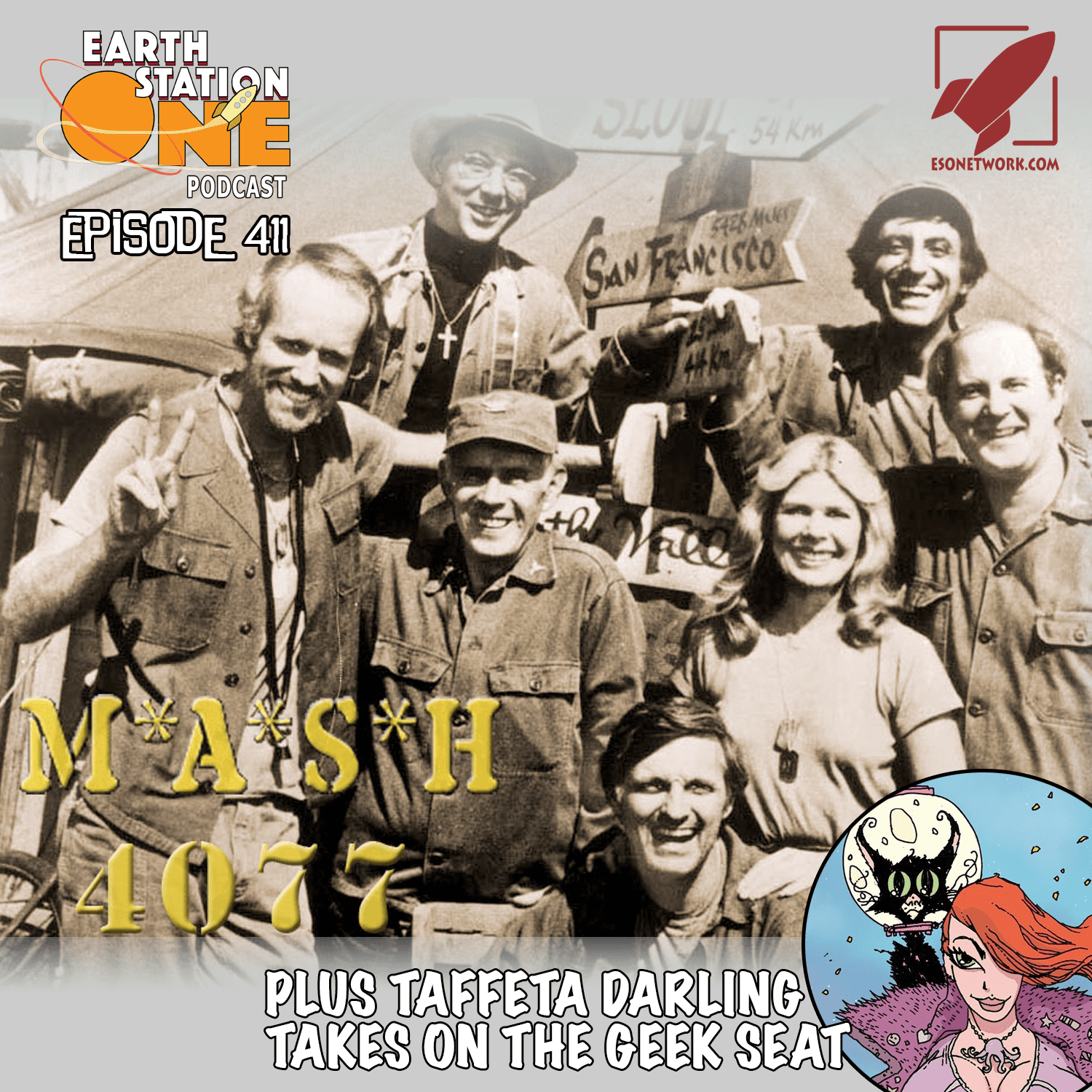 The Earth Station One Podcast Ep 411 - MASH