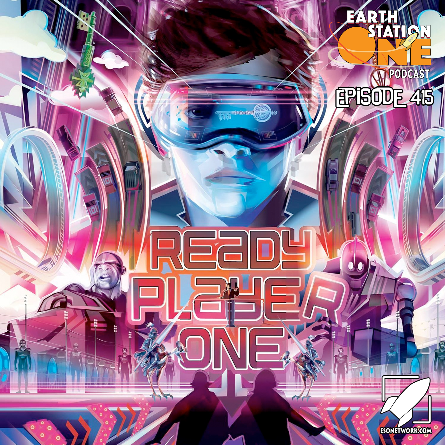 Earth Station One Podcast Ep 415 - Ready Player One Movie Review