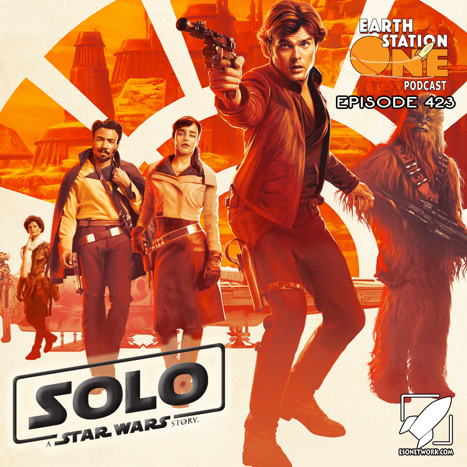 Earth Station One Podcast Ep 423 - Solo A Star Wars Story