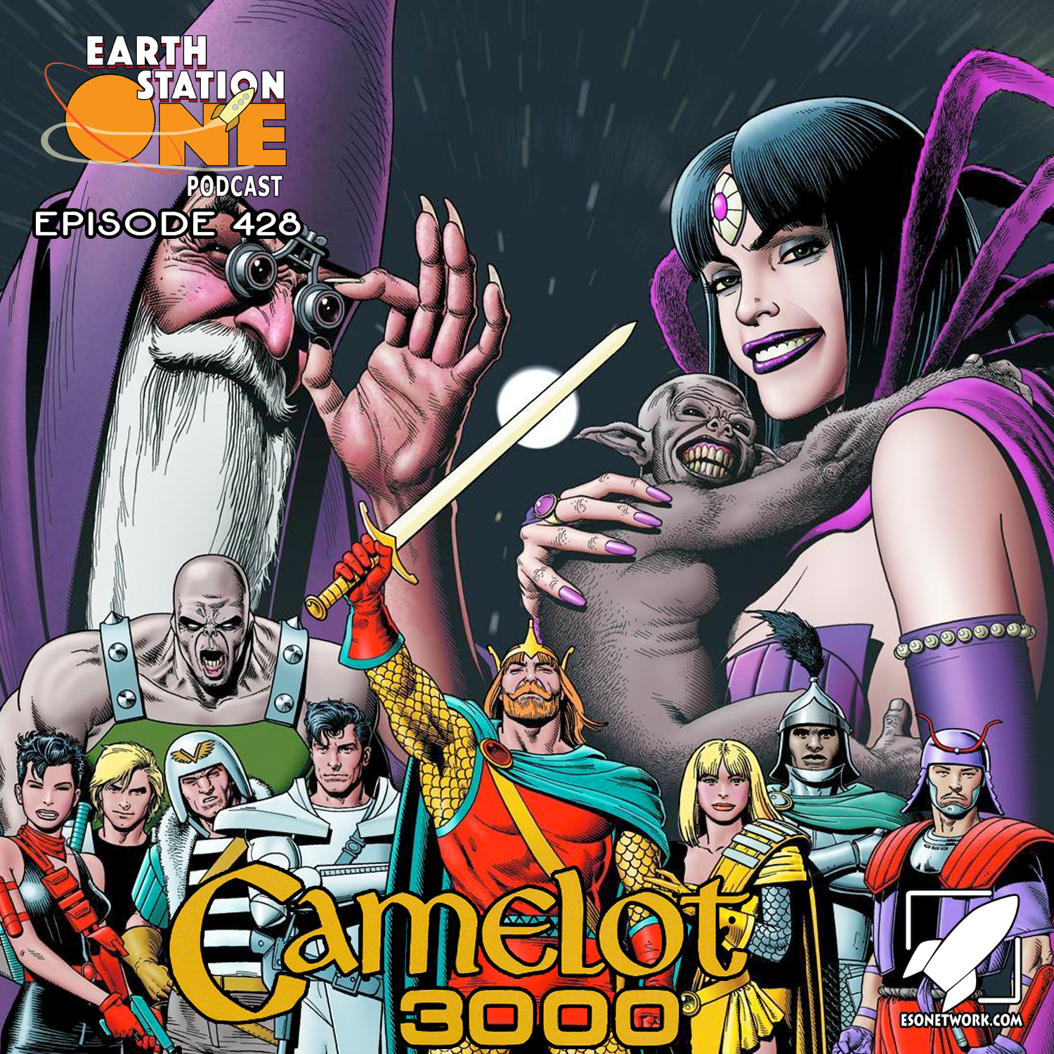 Earth Station One Podcast Ep 428