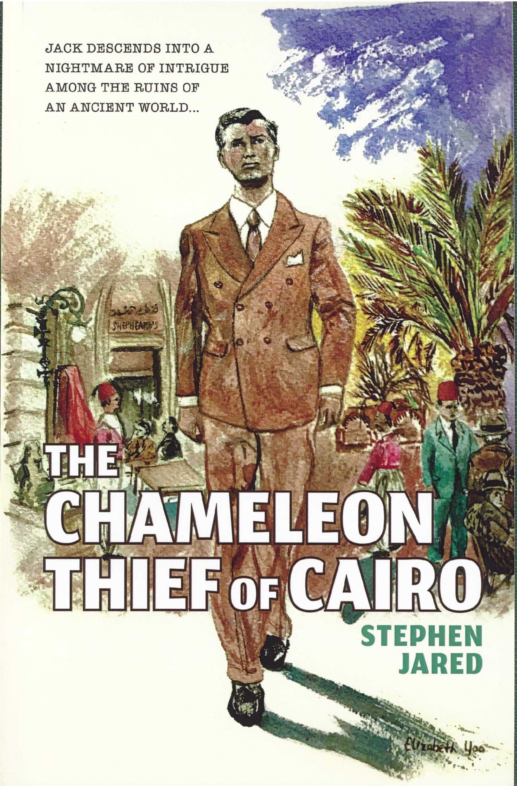 The Chameleon Thief of Cairo Book Reivew By Ron Fortier