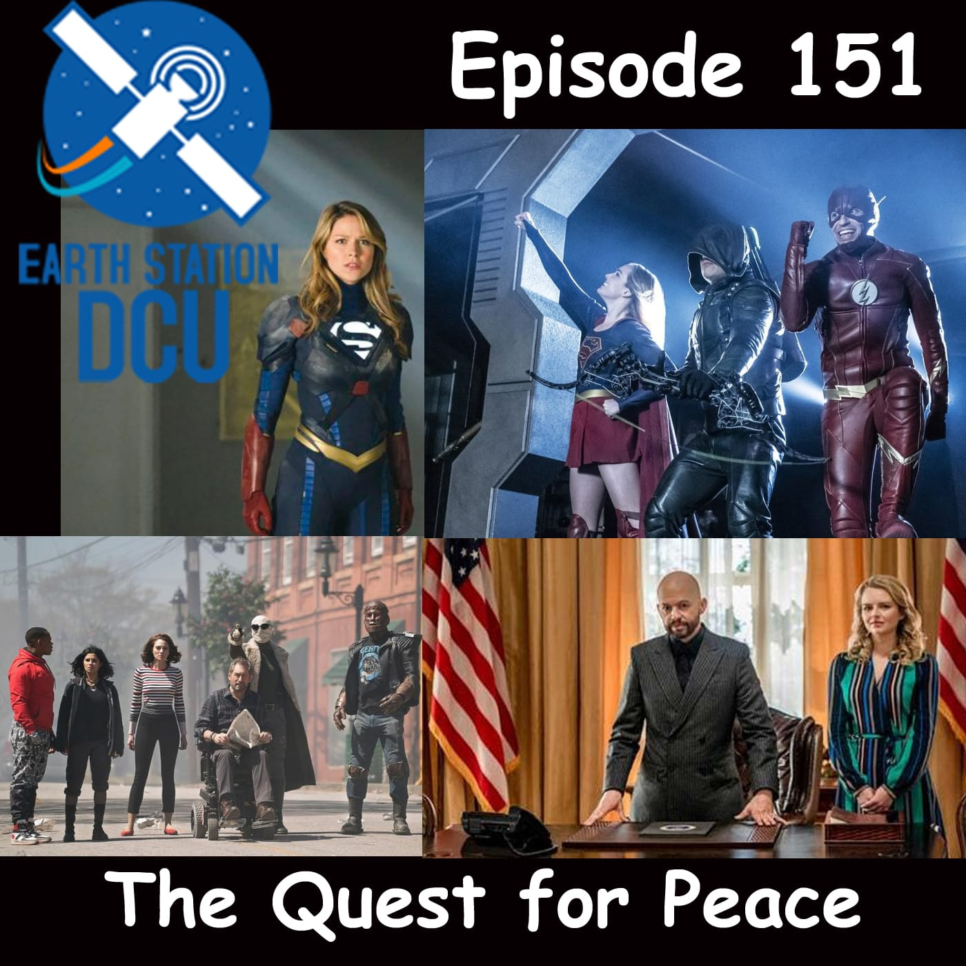 The Earth Station DCU Episode 151 – The Quest for Peace