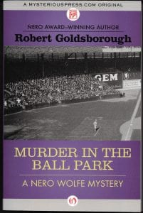 Murder In the Ball Park Book Review