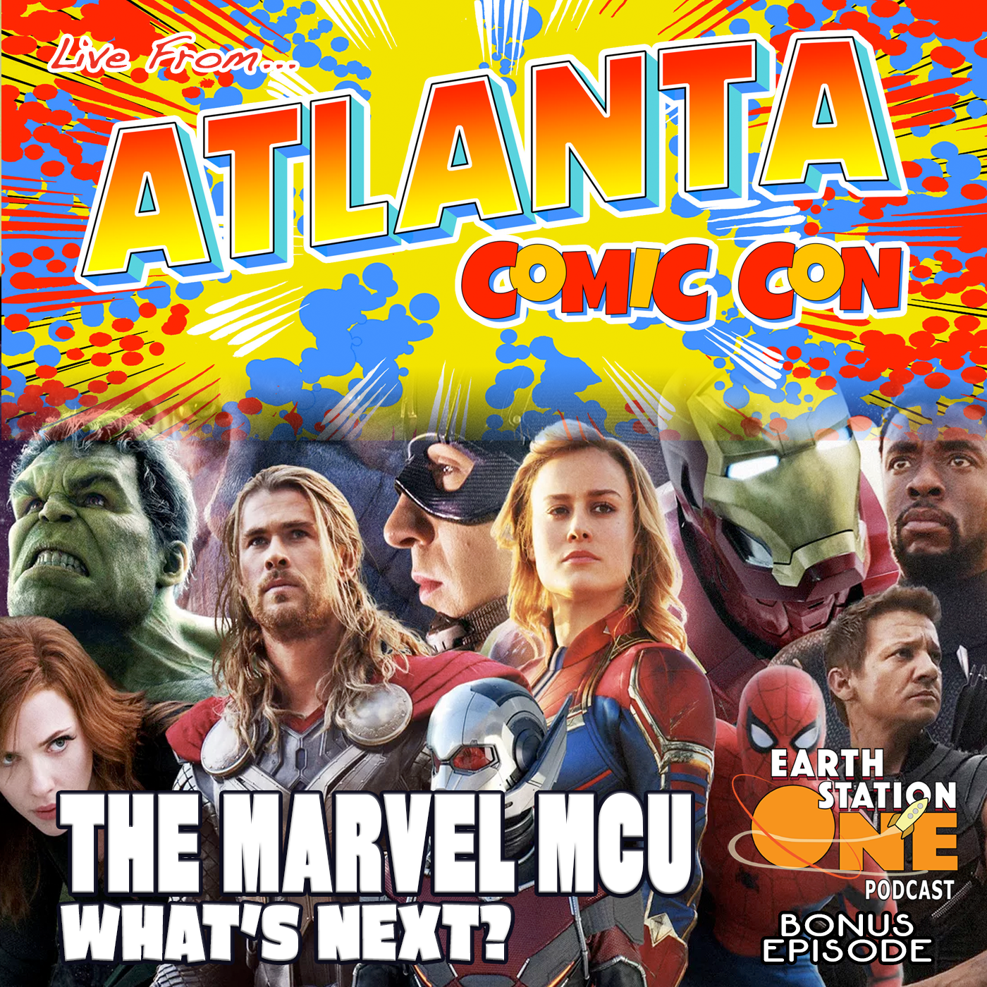 Earth Station One Bonus - Live From ACC, The Marvel MCU What's Next?