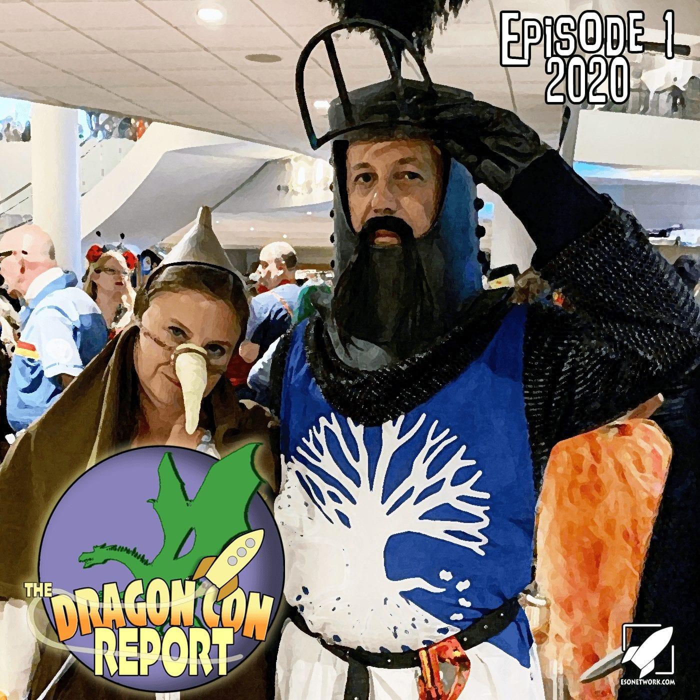 The 2020 Dragon Con Report Ep 1