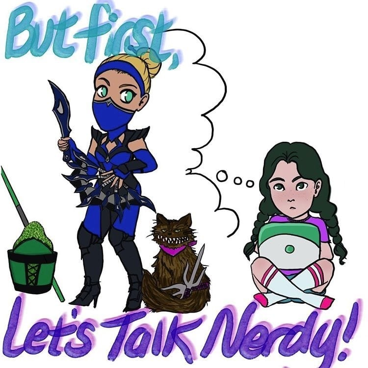But First Let's Talk Nerdy episode 15 art