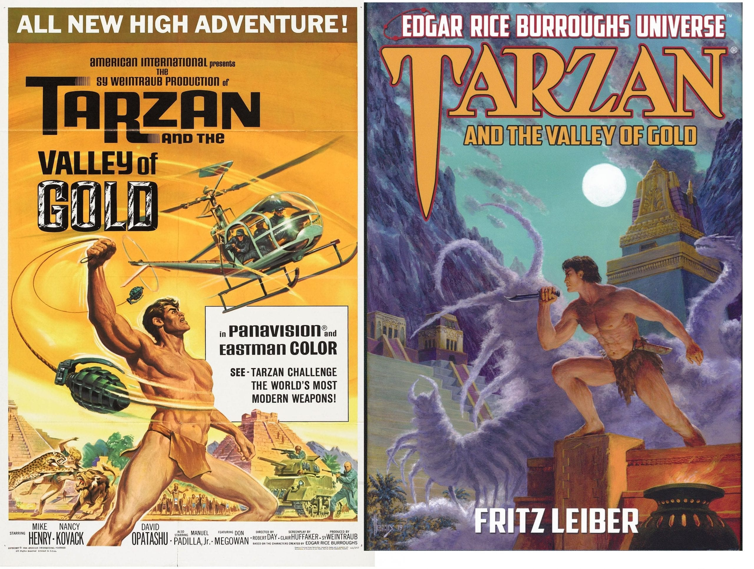 Tarzan and The Valley of Gold Book Review By Ron Fortier