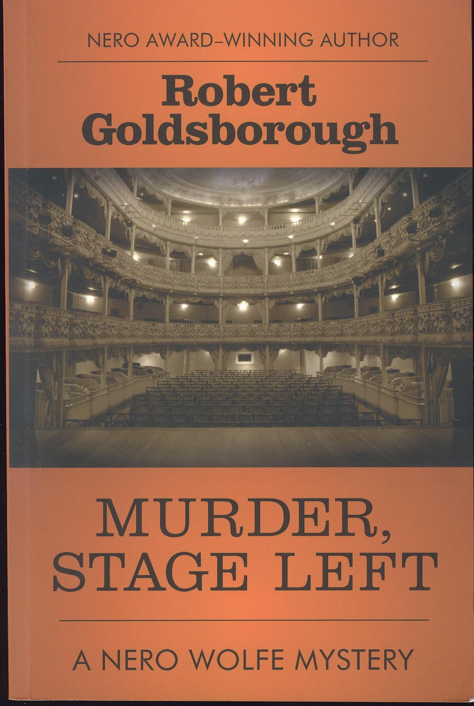 Murder Stage Left Book Review By Ron Fortier
