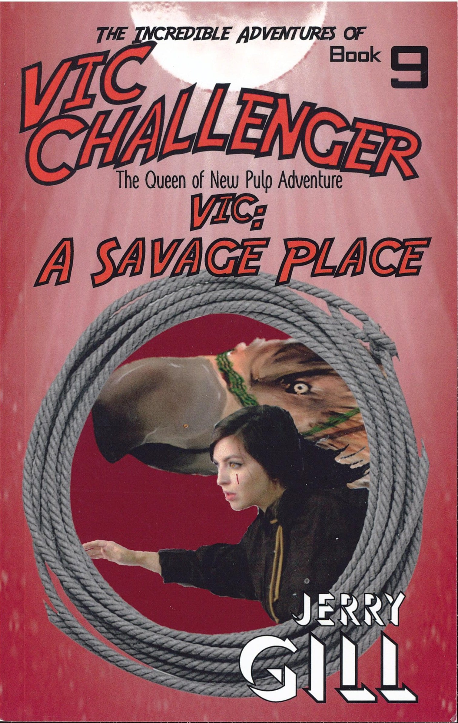 Vic Challenger - In A Savage Place Book Review