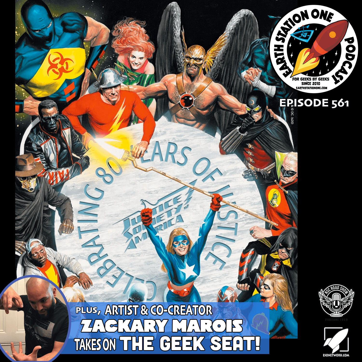 The Earth Station One Podcast Ep 561