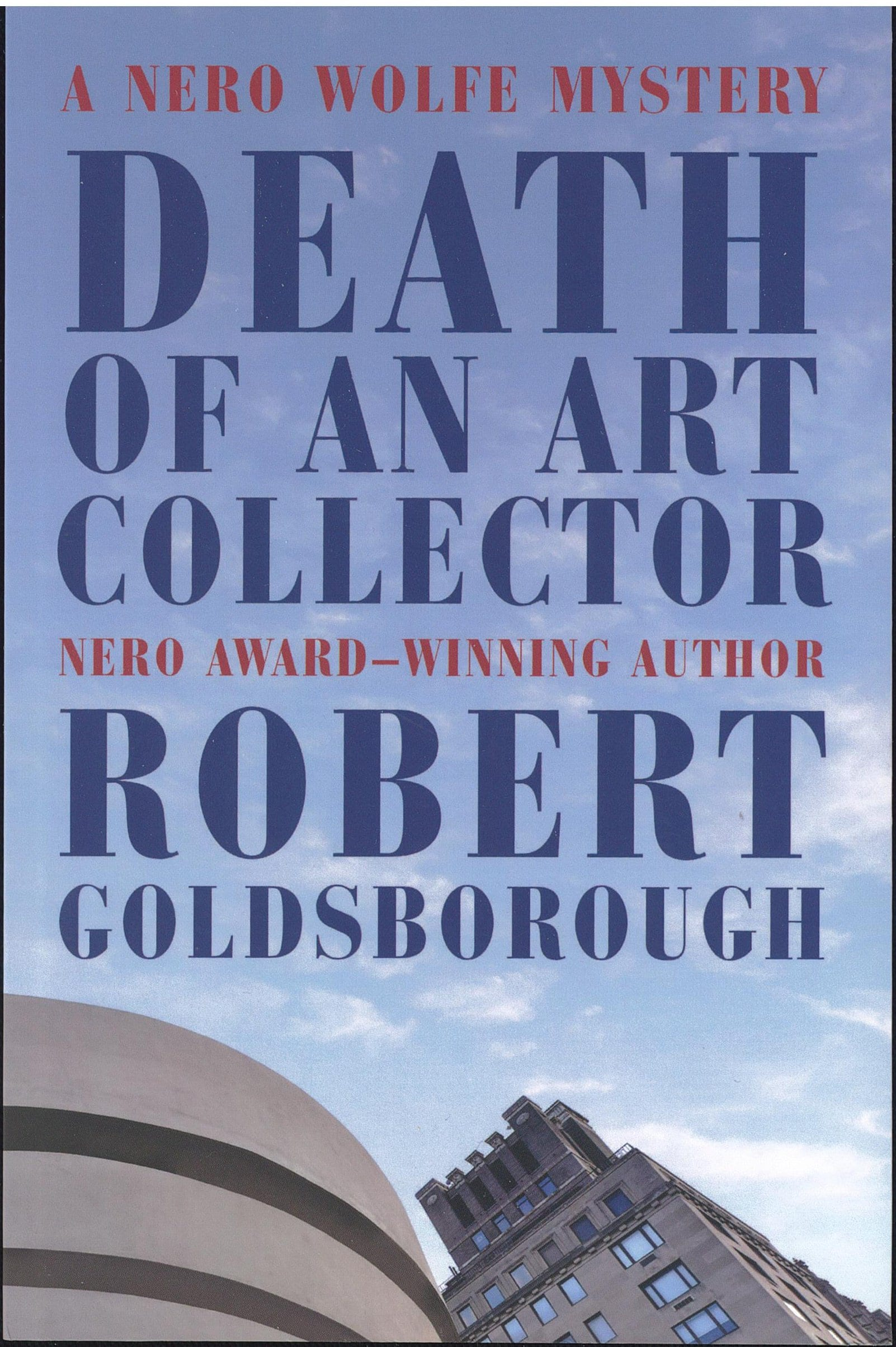 Death of an Art Collector Book Review By Ron Fortier