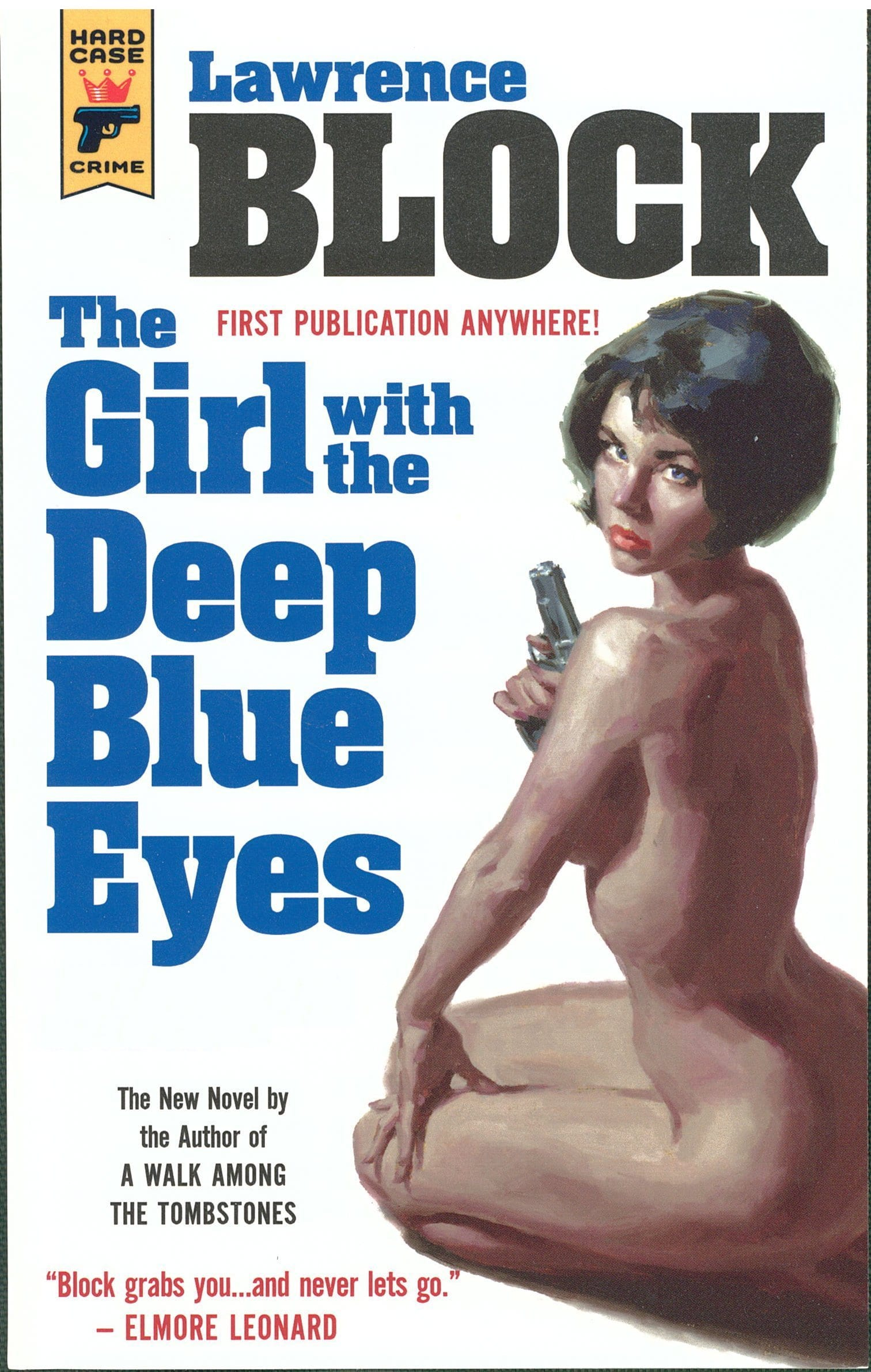The Girl with the Deep Blue Eyes Book Review By Ron Fortier