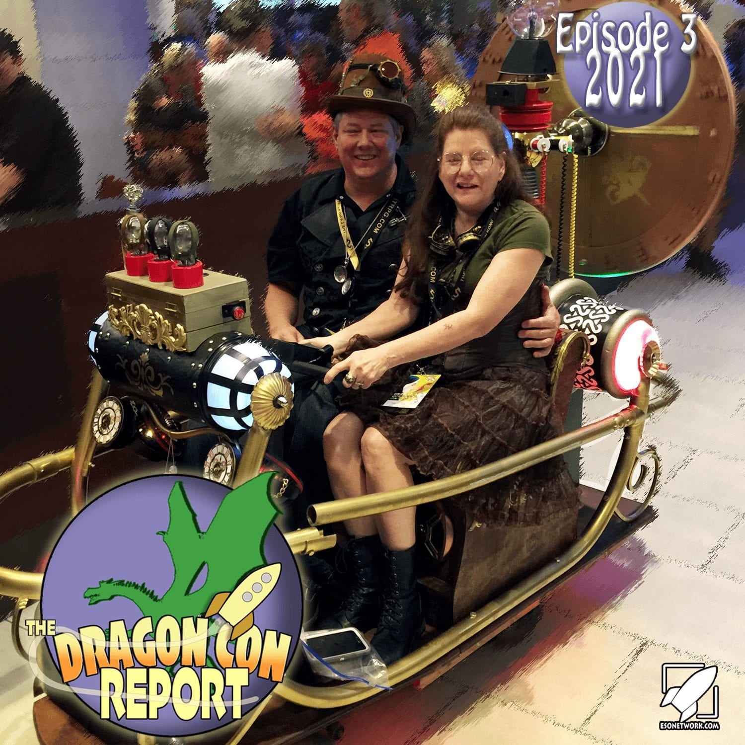 The 2021 Dragon Con Report Episode 3