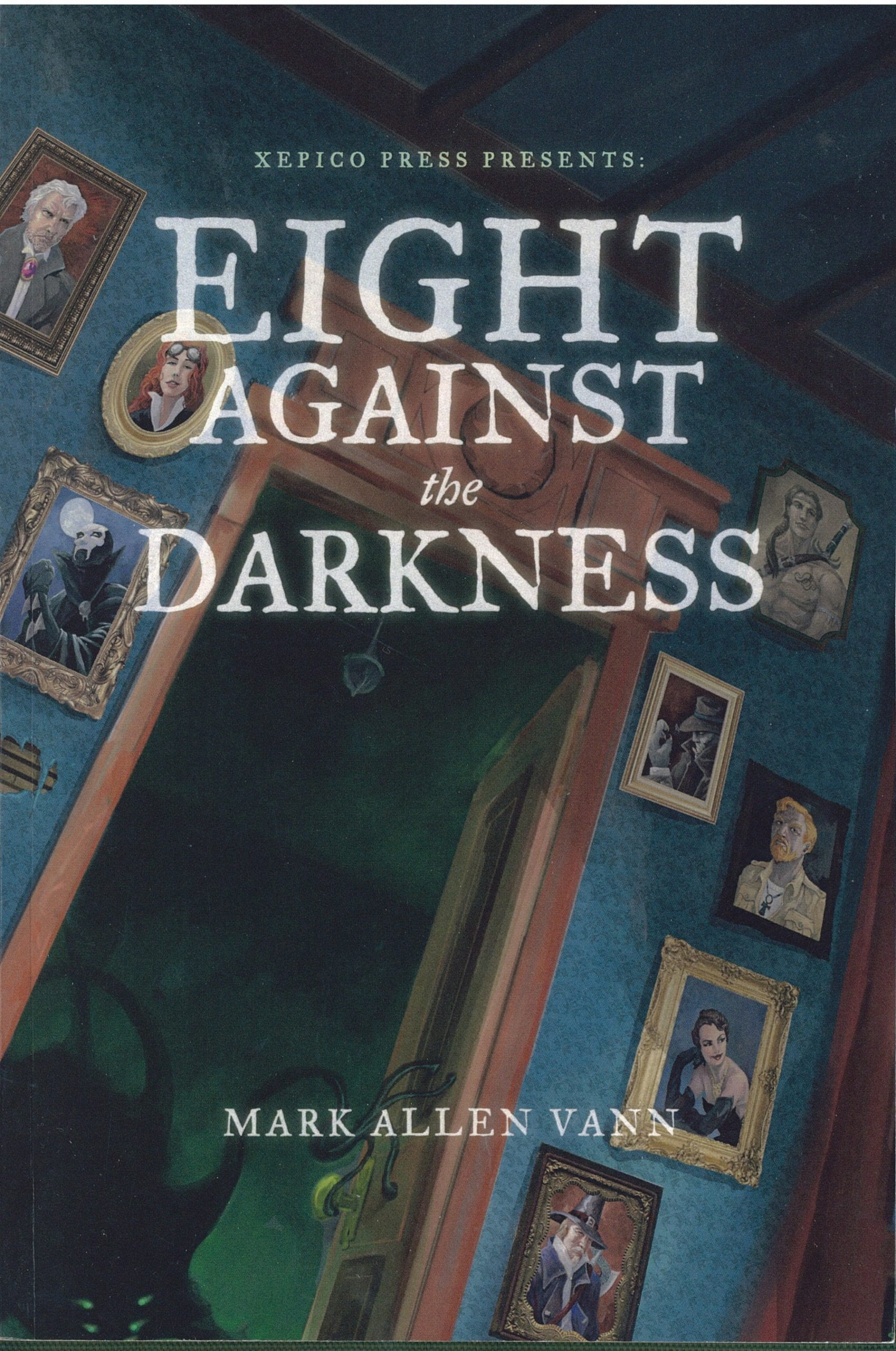 Eight Against The Darkness Book Review By Ron Fortier