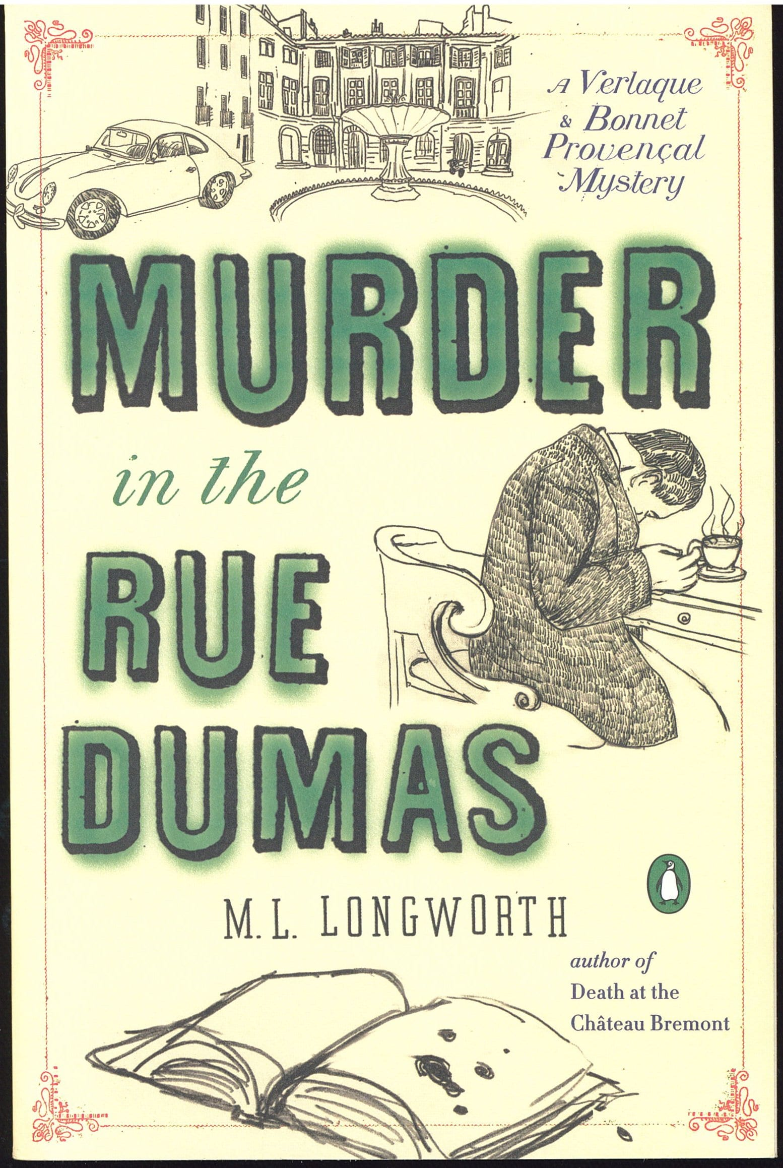 Murder at the Rue Dumas Book Review By Ron Fortier