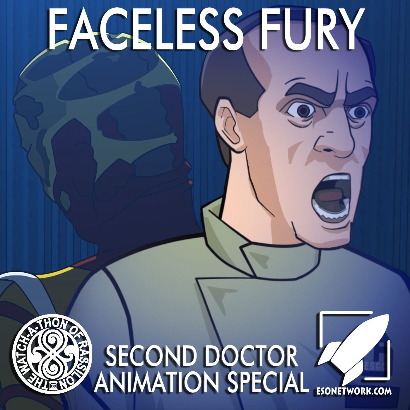 The Watch-A-Thon of Rassilon: Second Doctor Animation Special: Faceless Fury