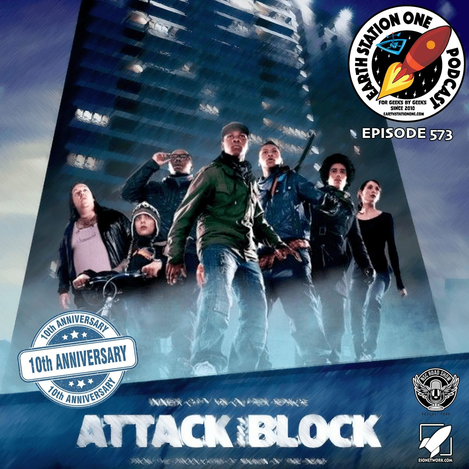 Earth Station One Ep 573 - Attack The Block
