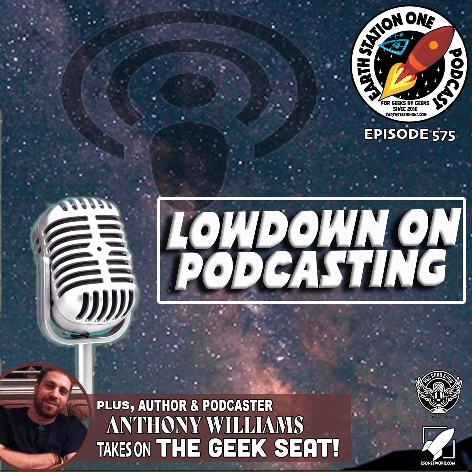 Earth Station One Ep 575 - Lowdown on Podcasting