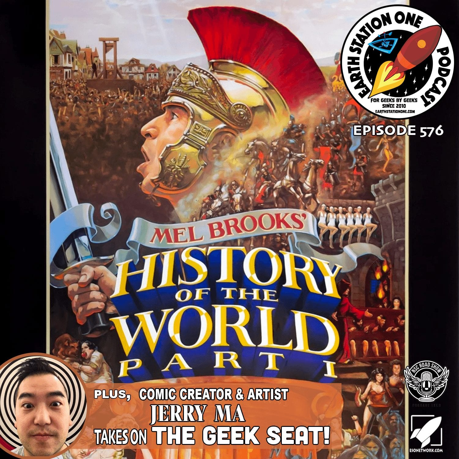 The Earth Station One Podcast Ep 576 - History of World Pt 1