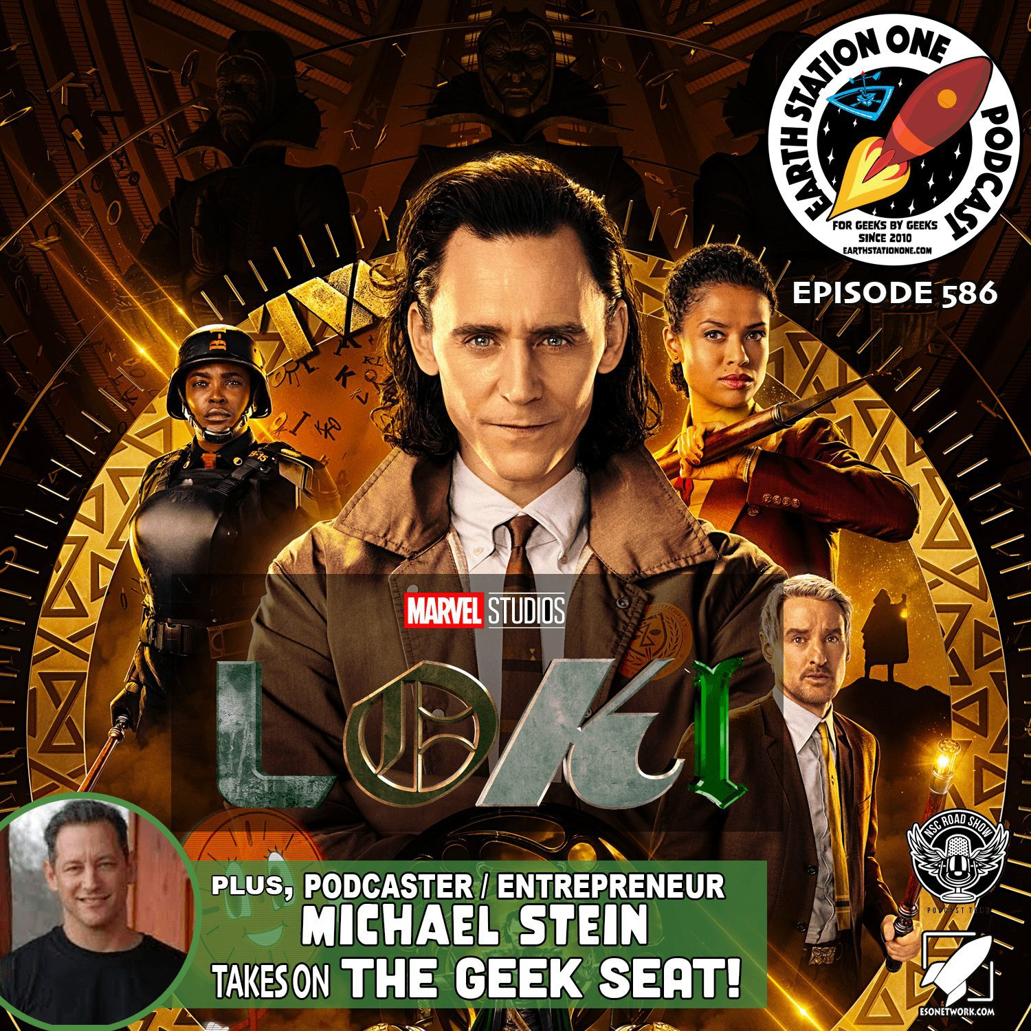 Earth Station One Podcast Ep 586 - Loki Season 1 Review