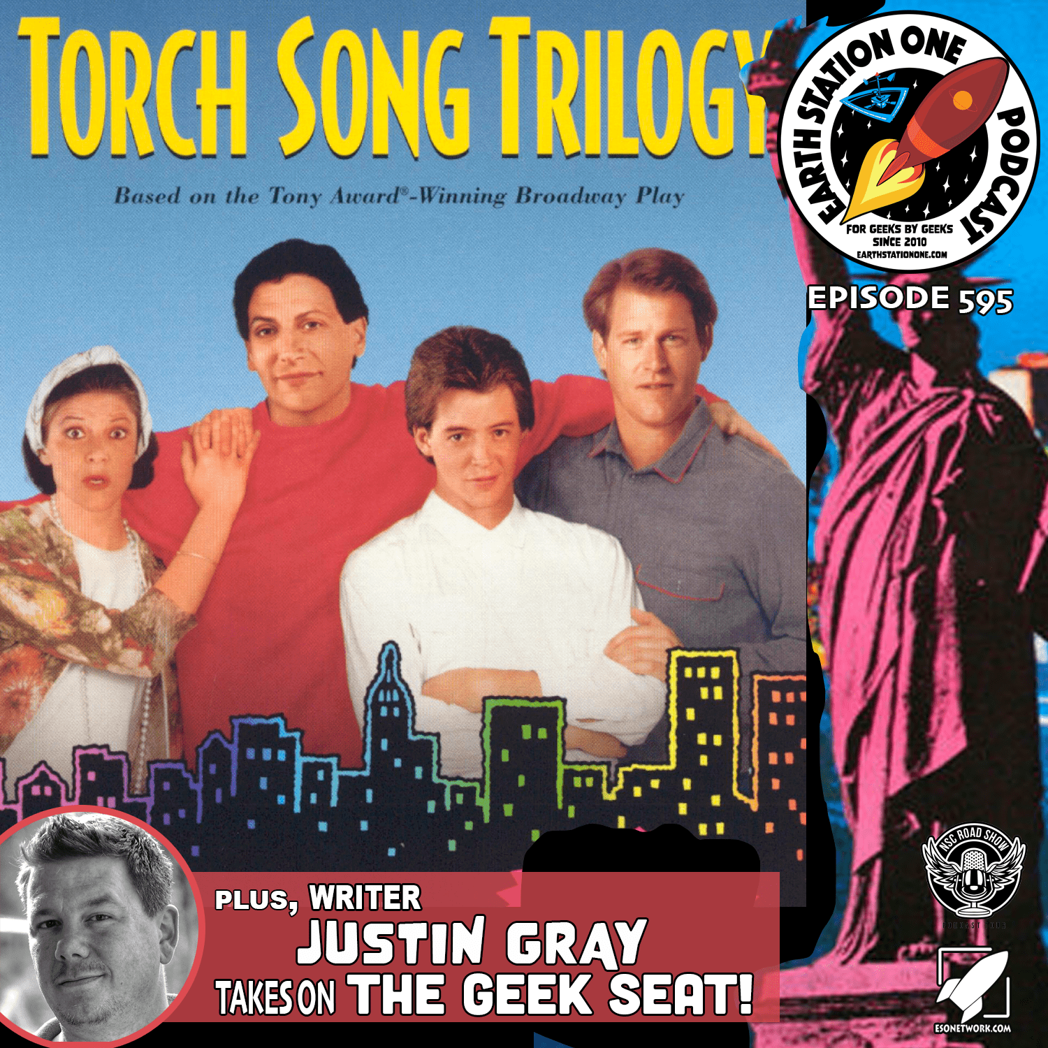 The Earth Station One Podcast - An LGBT Look At Torch Song Trilogy